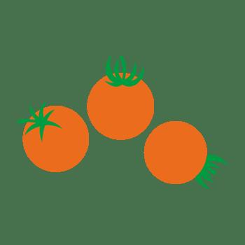 ミニトマトのイラスト
